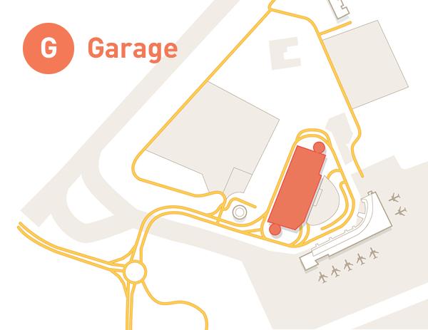 MHT Parking Garage Map Graphic